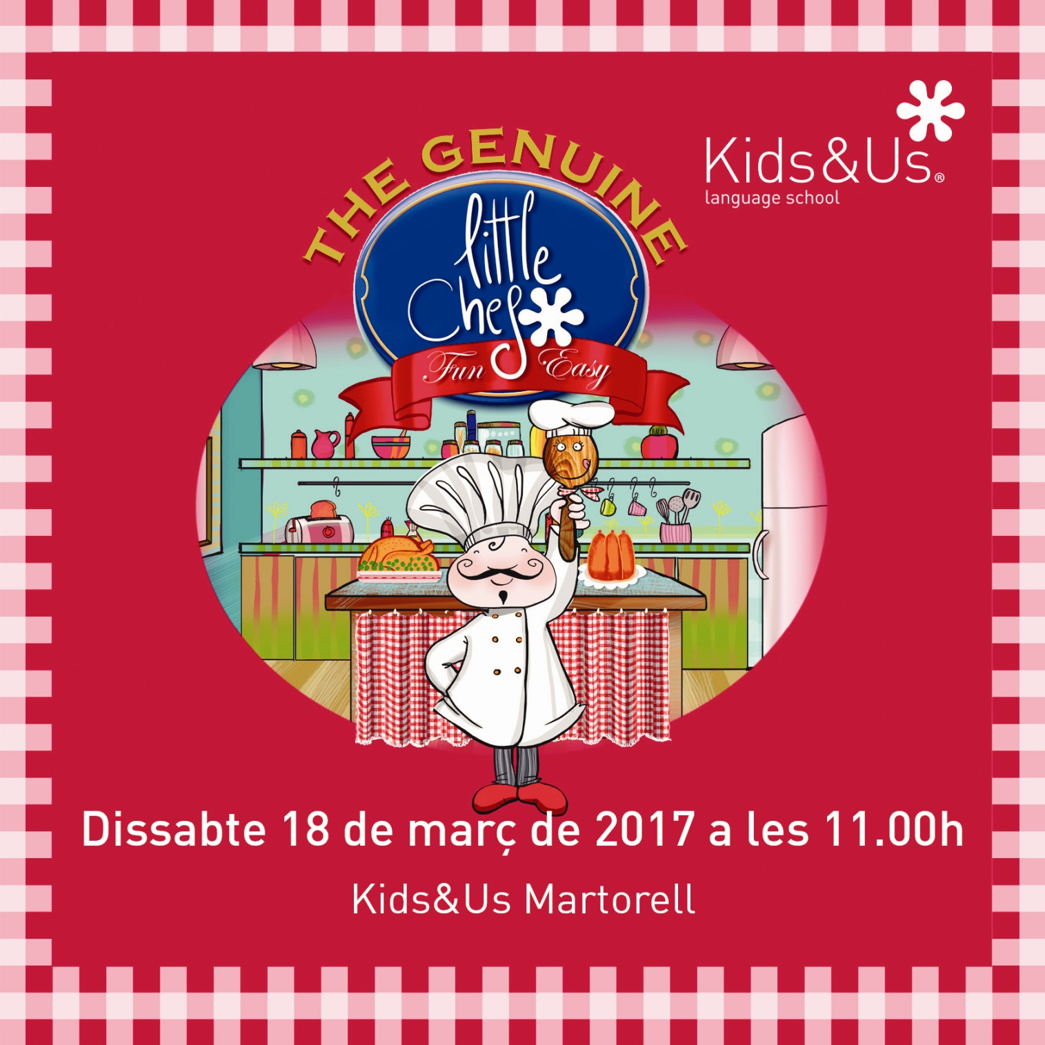 Nou taller de cuina Little Chef